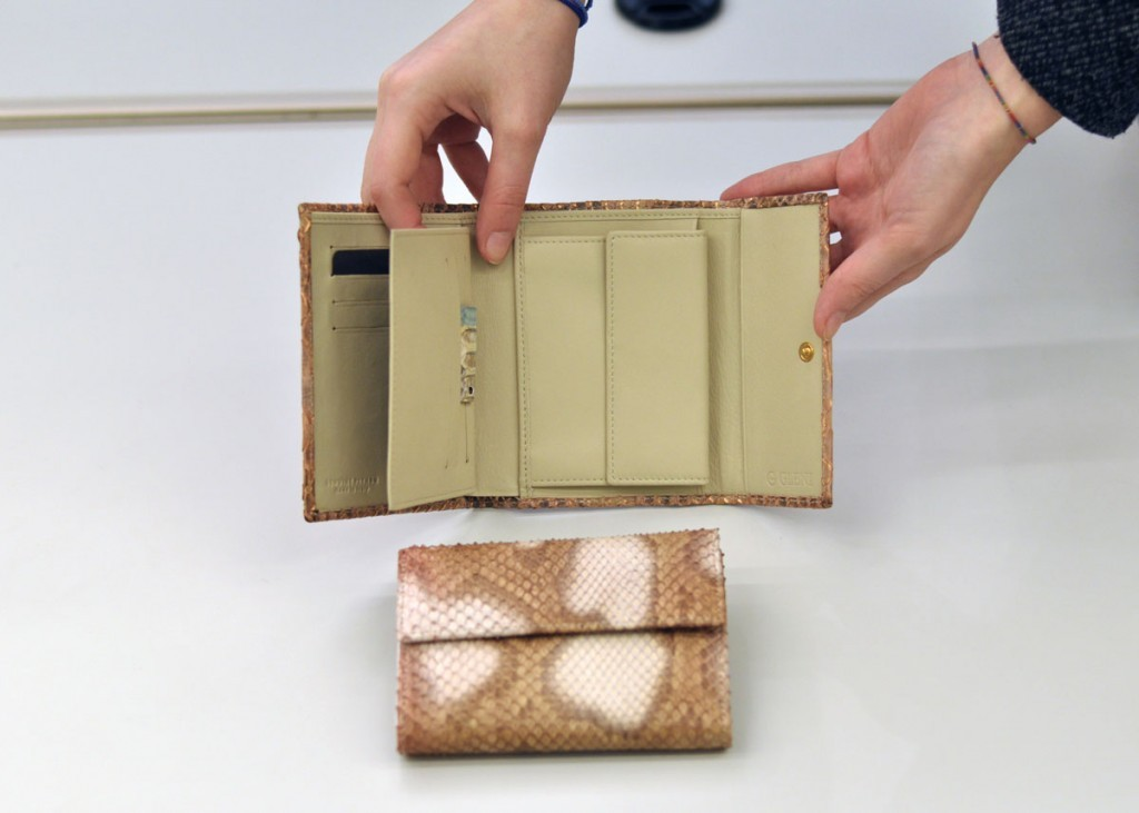Python leather wallet Acc-7