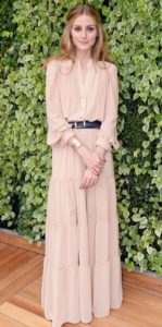 Olivia Palermo - How to make an elegant dress more casual