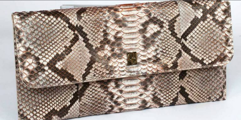 Vera in python Reticulatus with livery and copper details
