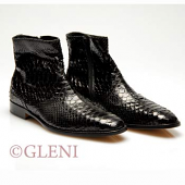 Refined man python bootee SF 22