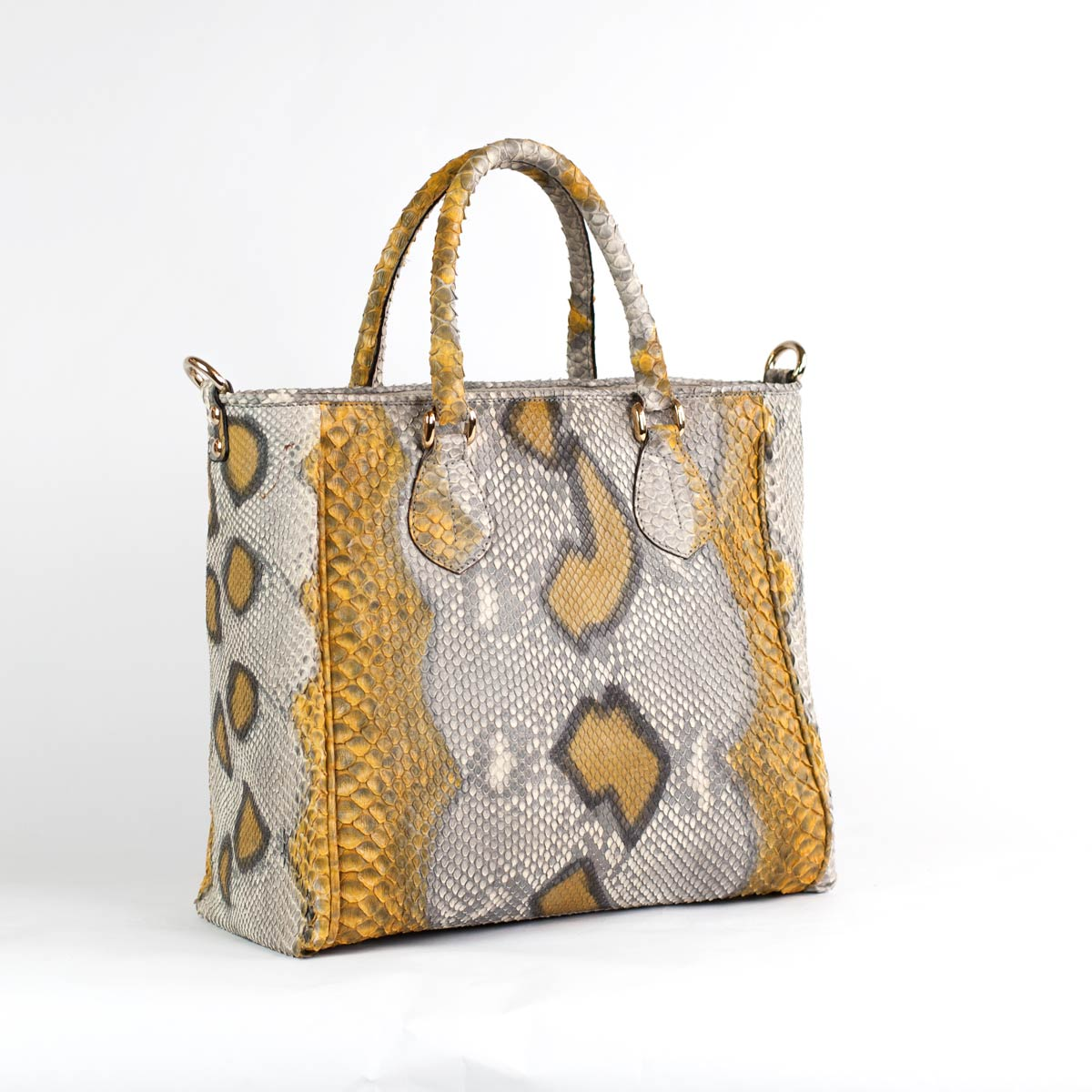 Handbag 5032 in python leather