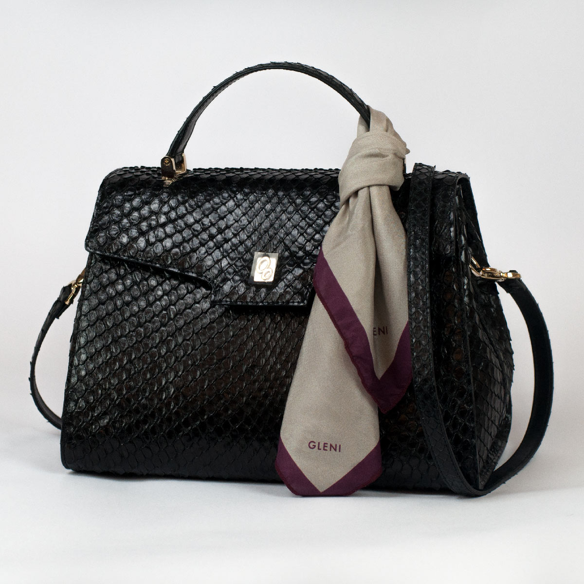 Anaconda handbag