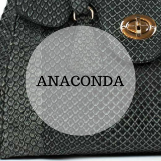 Genuine anaconda leather handbags
