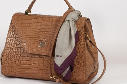 Luxury handbags in exotic leather made in italy