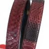 Genuine python belt made in Italy