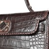 Precious alligator leather for the 8004 handbag