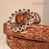 Copper belt for woman made in Italy