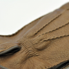 Men's Gloves in Brown Deerskin