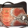 python pochette by Gleni made in Italy