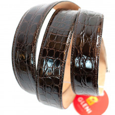 Genuine caiman leather belt by GLENI