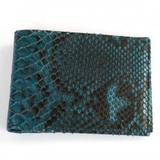 Wallet ACC/124 in Blue Sailor python - details