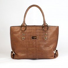 Luxury alligator tote bag