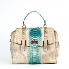 Gold and turquoise shades for the 5019 handbag from GLENI