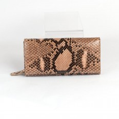 Pretty women's wallet ACC/4 in python leather