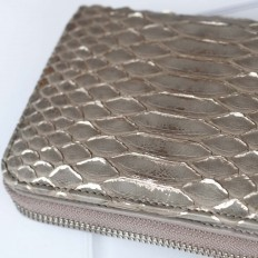 genuine python wallet for woman by Gleni