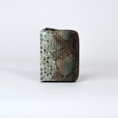 wallet for woman in genuine python