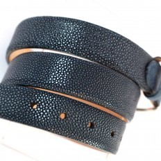 Genuine ray leather belt by GLENI