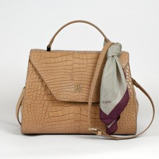 luxury handbag in genuine alligator
