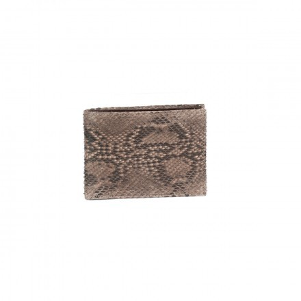 Classic wallet ACC/118 in genuine front cut python