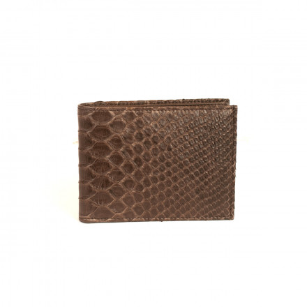 Wallet ACC / 124 in genuine python leather