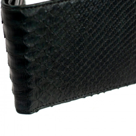 Genuine python leather wallet