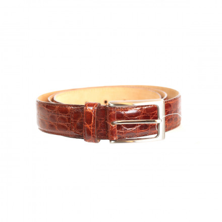 Real cayman belt Made in Italy