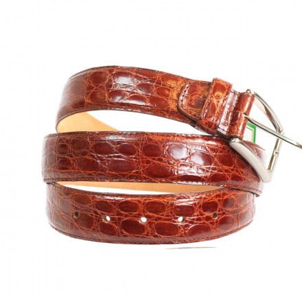Genuine cayman belt made in Italy by Gleni