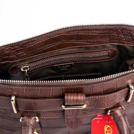 handbag made in genuine leather