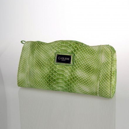 Young and fresh python clutch in Green Flash tonality