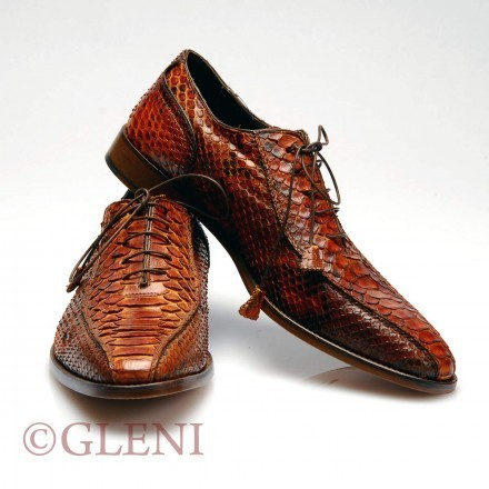 Gorgeous man python shoes SF 16