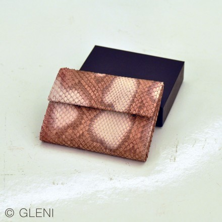 rose wallet for woman by Gleni