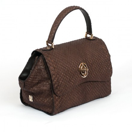 Elle bag genuine anaconda GLENI
