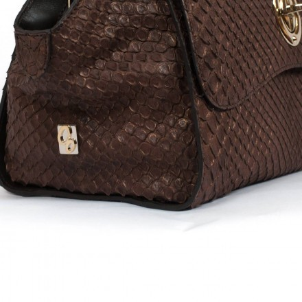 Genuine anaconda handbag GLENI