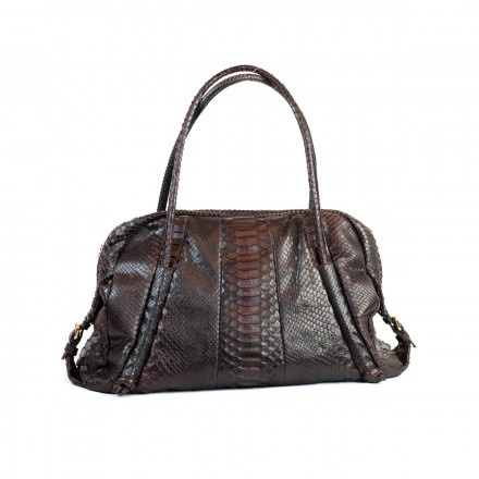 Dark brown comfortable luxury bag by GLENI