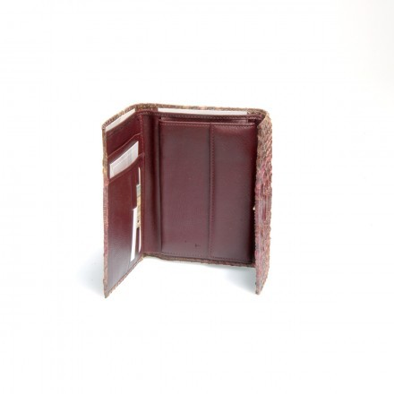 Internal compartment ACC/3 in dark plum natural leather