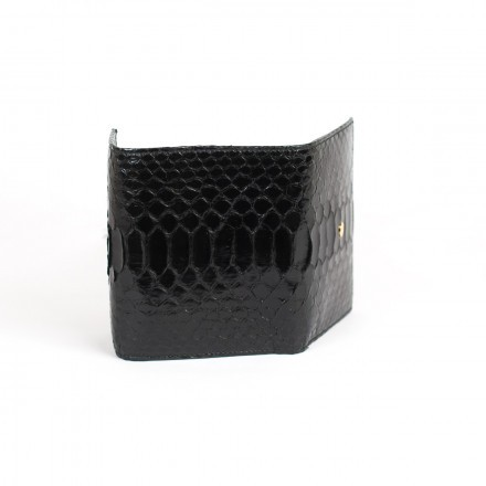 Small wallet by Gleni in black leather