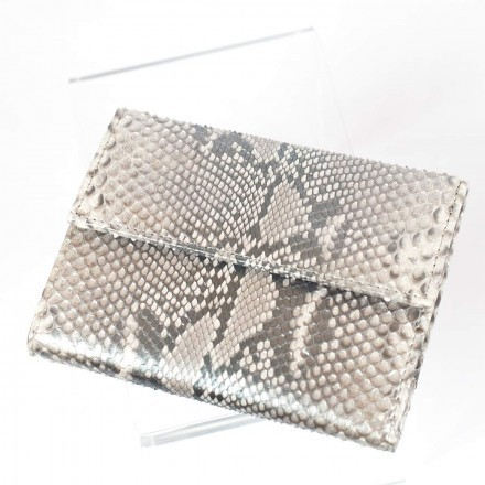 ACC/7 python leather wallet