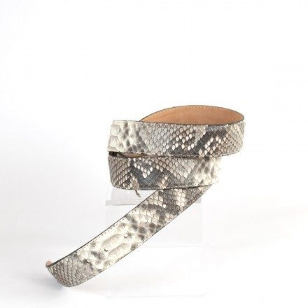 Belt C3500 in Matt Roccia python leather