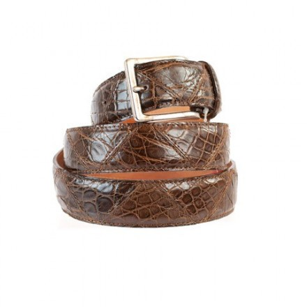Belt in genuine alligator handmade