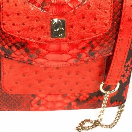 red coquelicot bag