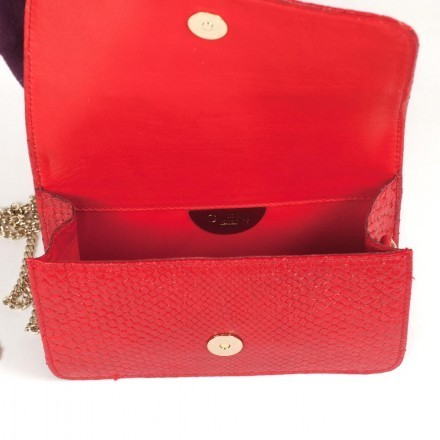 petite clutch made in Italy